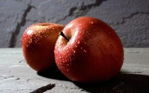 Моложавые яблоки
