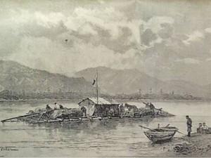 Сплав на плоту по Амуру