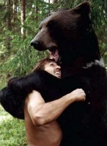 борьба с медведем