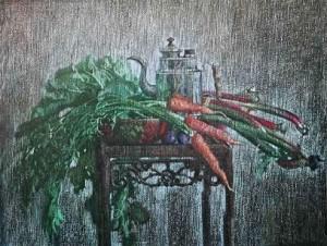 Натюрморт с морковью
