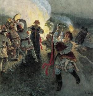 Ночь на Ивана Купалу - Клавдий Лебедев