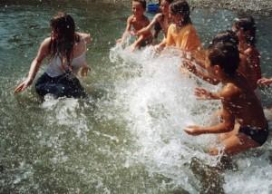 купальские забавы на воде