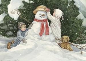 забавы со снегом