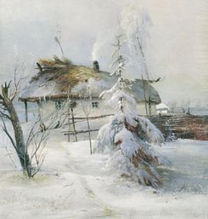 Зима Саврасов