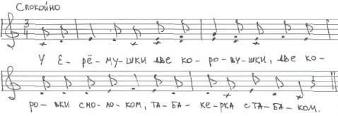 У Ерёмушки
