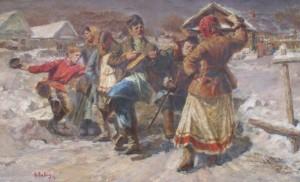 Масленица в деревне