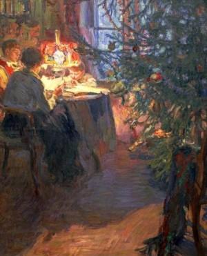 История появления новогодней елки