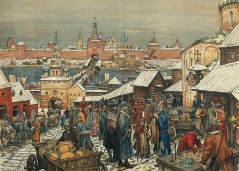Торг в Великом Новгороде