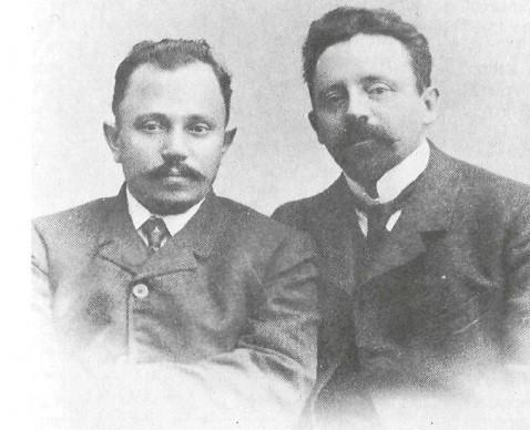 Вл.И. Соколов, И. П. Батюков. Фотография. Начало XX в.