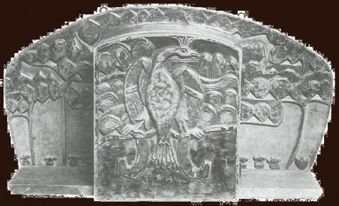 Настенный шкаф. 1910-е годы.