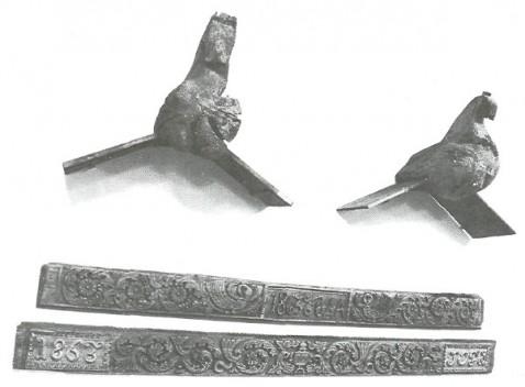 Фрагмент экспозиции «Русское народное искусство»
