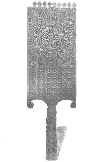 Прялка. 1890 г. Вологодская обл