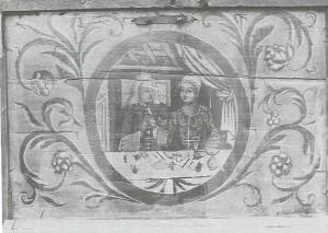 Сундук. Середина XVIII в.