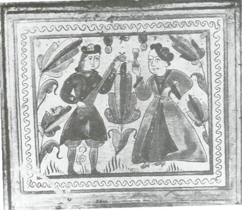 Сундучок-теремок нач. XVIII в. Устюг Великий