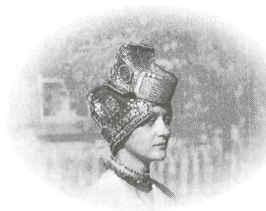 Женский головной убор «Сорока»