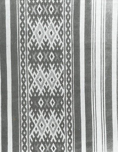 Рукав духовского костюма.  Фрагмент. Скопинский уезд.  1910-е годы.