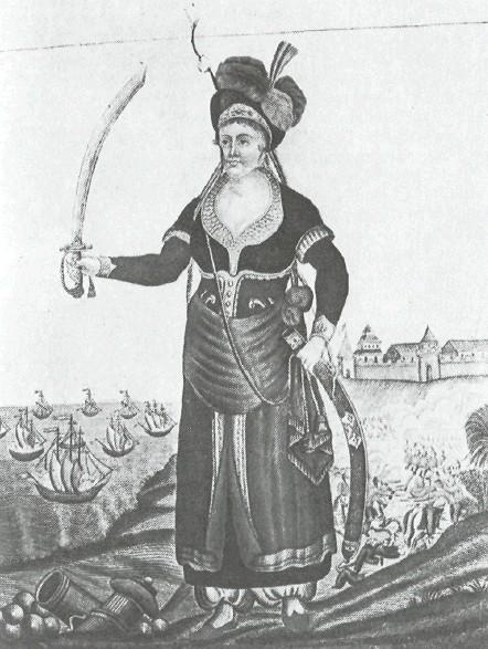 Бобелина с саблей