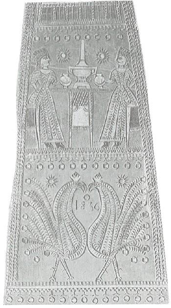 Теремковая прялка. 1836 г. Ярославская губ.